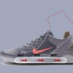 بهرهگیری از یک نوار نقاله کوچک در کفشهای ورزشی نایک با هدف تسهیل در پوشیدن آن