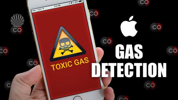 تشخیص گازهای سمی از طریق گوشی آیفون
