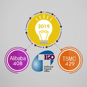 قرارگیری «TSMC» و «علیبابا» در زمره برترین متقاضیان ثبت اختراع در تایوان