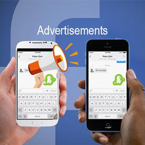 اهداف تبلیغاتی فیسبوک در خلال مکالمات خصوصی کاربران