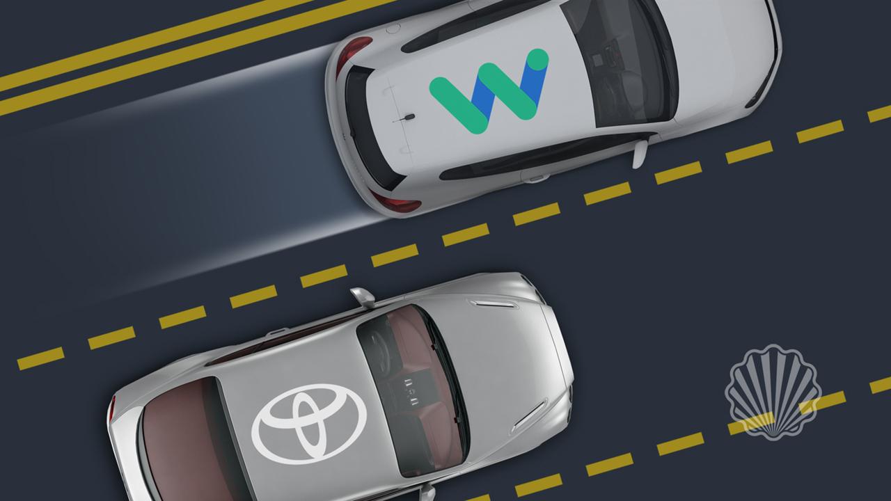 پیشی گرفتن وایمو از تویوتا در زمینه پتنتهای وسایط نقلیه خودران