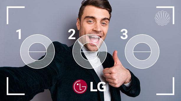 طراحی منحصربهفرد دوربین سلفی «LG»