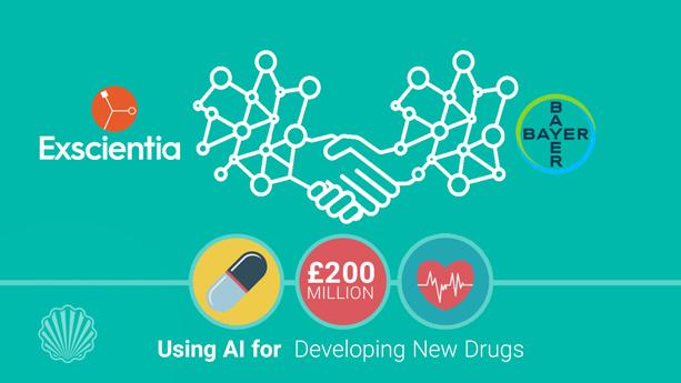 شکلگیری یک همکاری فناورانه به منظور استفاده از هوش مصنوعی برای تولید داروهای جدید