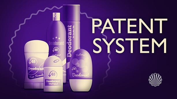 استفاده گسترده از سیستم پتنت برای محافظت از محصولات ضد عرق بدن