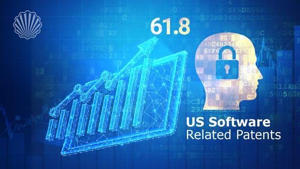سهم  بالای پتنتهای مرتبط با نرمافزار در میان «US» پتنتهای گرنت شده