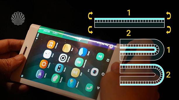 صفحهنمایش مخصوص اپل برای گوشیهای انعطافپذیر آینده
