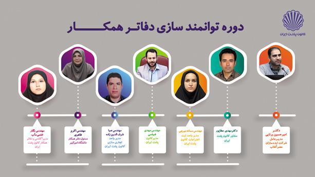 برگزاری دوره توانمندسازی دفاتر همکار؛ یادگیری رمز موفقیت مسئولین دفاتر همکار کانون پتنت ایران