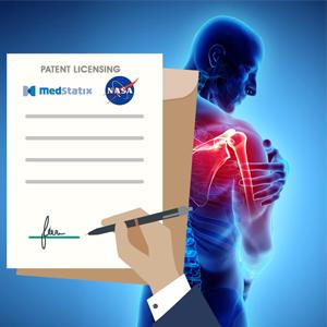 اعطای مجوز بهرهبرداری از یک فناوری پزشکی توسط ناسا