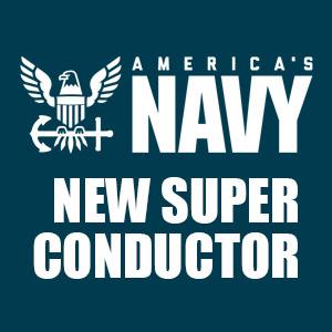 معرفی یک ابررسانای دمای اتاق توسط نیروی دریایی ارتش آمریکا