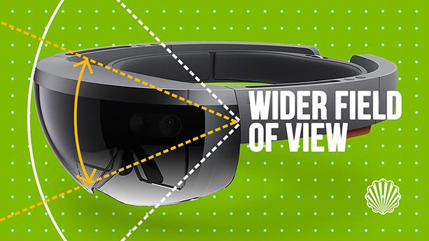 میدان دید وسیعتر در نسل جدید هدست واقعیت مجازی مایکروسافت