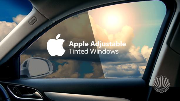 ایده خلاقانه اپل برای تنظیم خودکار رنگ پنجره خودرو