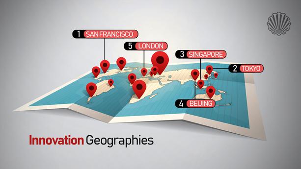 معرفی نوآورترین شهرهای جهان