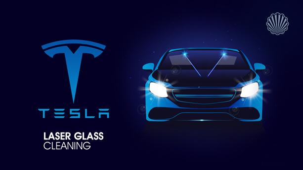 استفاده از پرتوهای لیزر برای تمیز کردن شیشههای خودرو