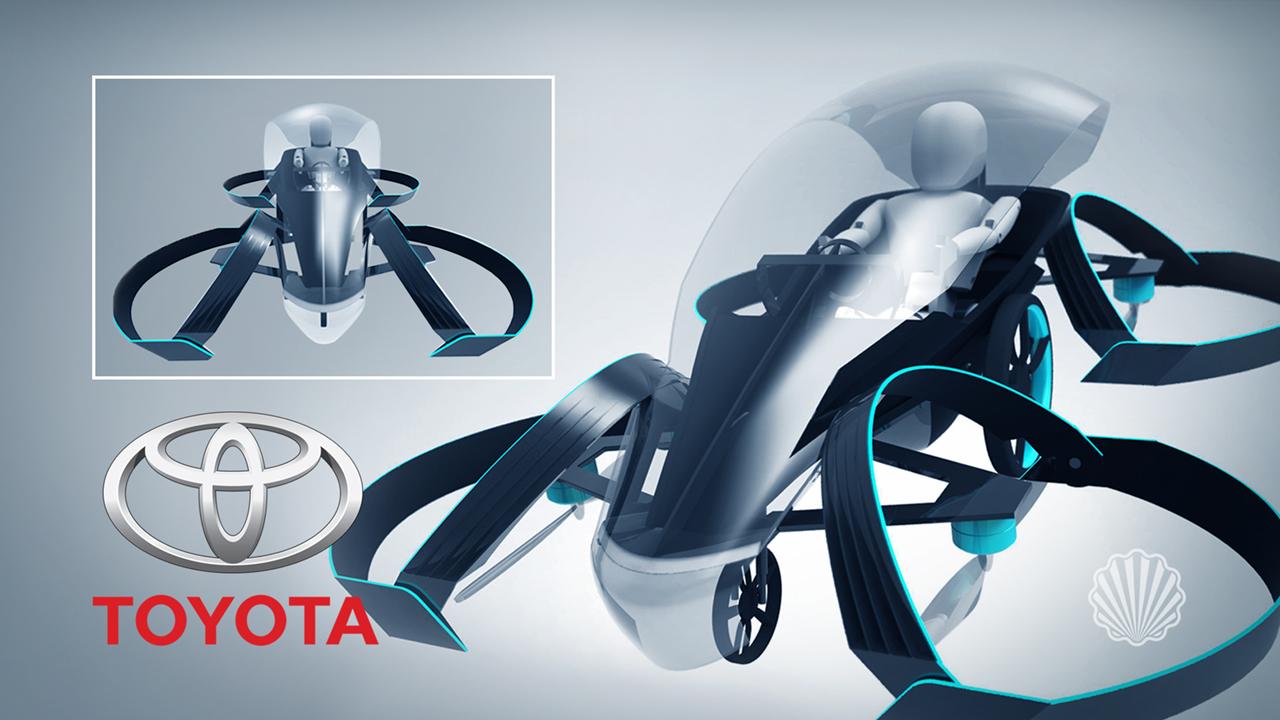 عزم جدی تویوتا برای طراحی و ساخت ماشینهای پرنده