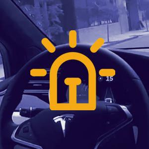 واکنش سریع خودروهای خودران در شرایط اضطراری