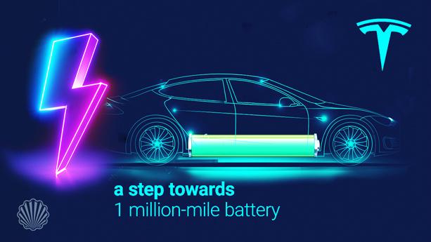 گام جدید تسلا برای دستیابی به مسافت یک میلیون مایلی در خودروهای الکتریکی