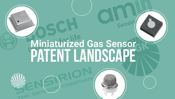 چشمانداز ثبت اختراع در حوزه سنسورهای گازی مینیاتوری