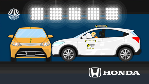 سیستم منحصربهفرد کیسههای هوا در نسلهای آتی خودروهای هوندا