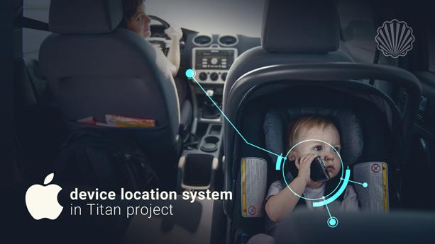 سیستم مکانیابی گوشیهای تلفن همراه در خودروی جدید اپل