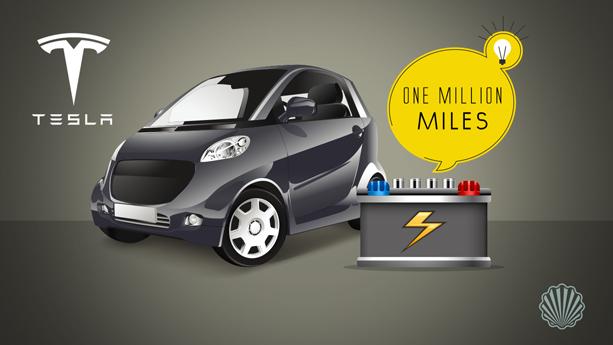 باتریهای جدید تسلا با طول عمر بیش از یک میلیون مایل