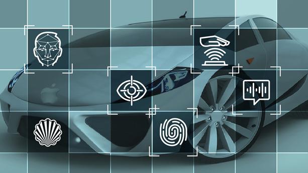 افزایش امنیت خودرو با استفاده از فناوری احراز هویت بیومتریک