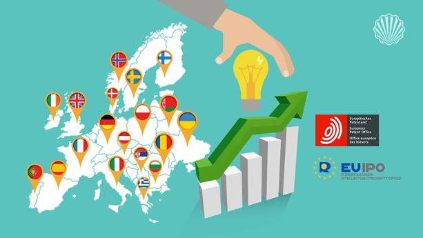 نقشبندی نیمی از اقتصاد اروپا بر پایه حقوق مالکیت فکری