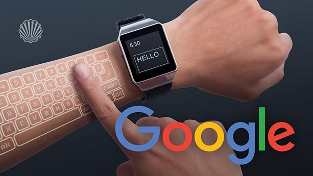 اختراع جدید گوگل، بازوی شما را به صفحهکلید ساعت هوشمند تبدیل میکند!