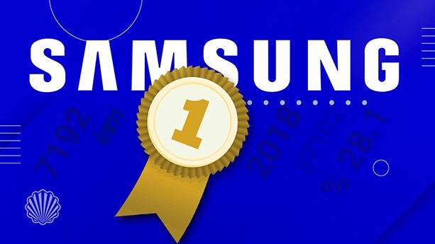 معرفی سامسونگ بهعنوان برترین فناور فعال در سیستم پتنت آمریکا تا پایان سال ۲۰۱۸