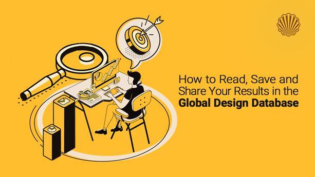 چگونگی خواندن، ذخیرهسازی و به اشتراکگذاری نتایج جستجو در پایگاه داده جهانی طراحی