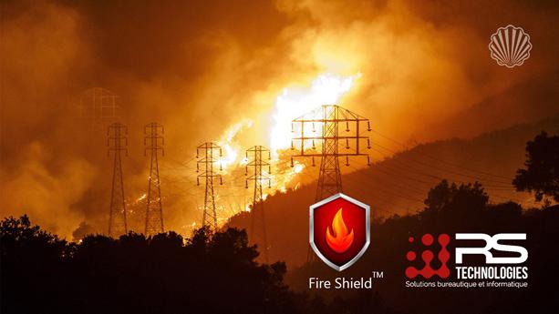 حفاظت گسترده از فناوری انحصاری جلوگیری از تخریب تیرهای برق در حین آتشسوزی
