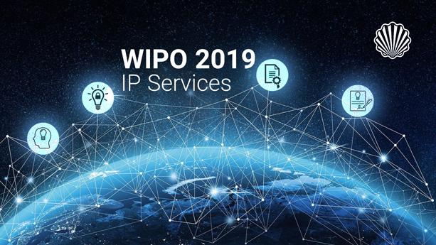 میزان استقبال از سرویسهای «IP» سازمان جهانی مالکیت فکری در سال ۲۰۱۹