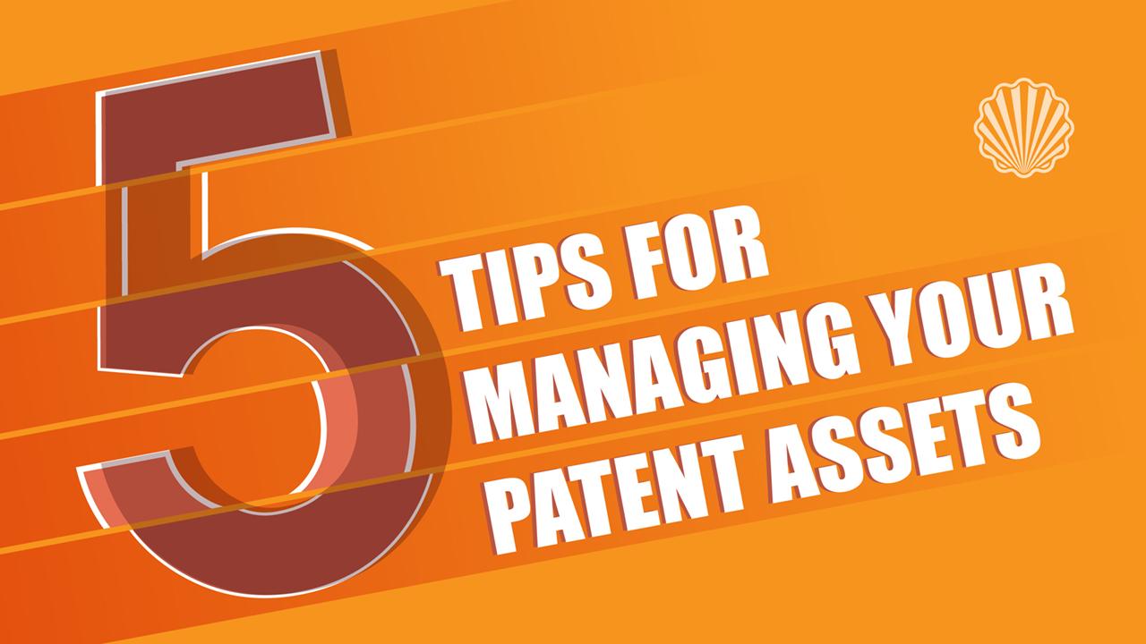 پنج نکته در خصوص مدیریت داراییهای فکری مبتنی بر پتنت